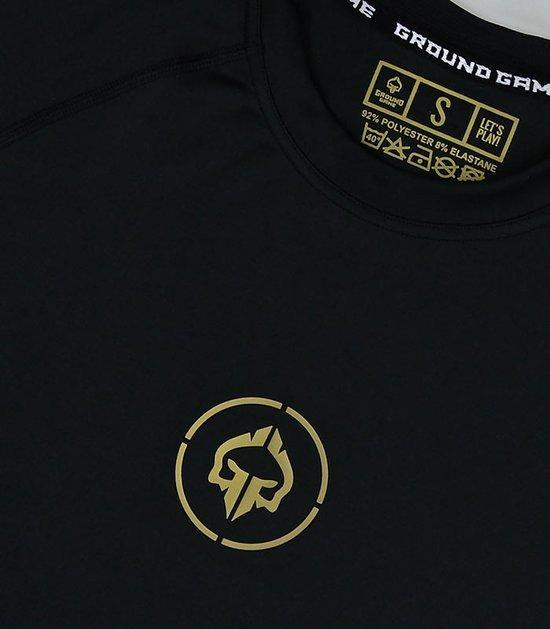"""Rashguard """"Athletic Gold"""" long sleeve"""