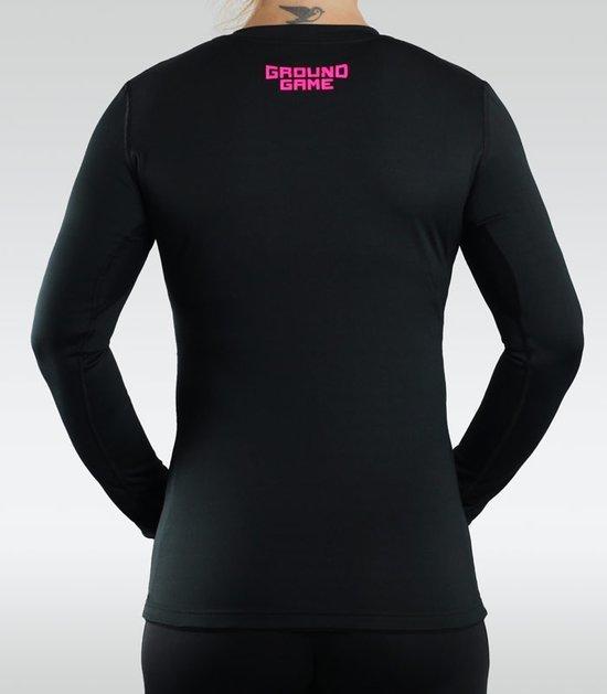 """Rashguard """"Athletic"""" Pink long sleeve"""