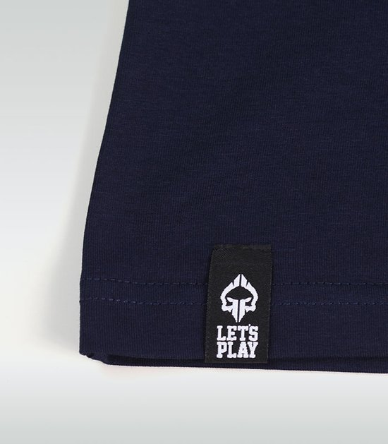 "T-shirt ""Jitsu"" Navy Blue"