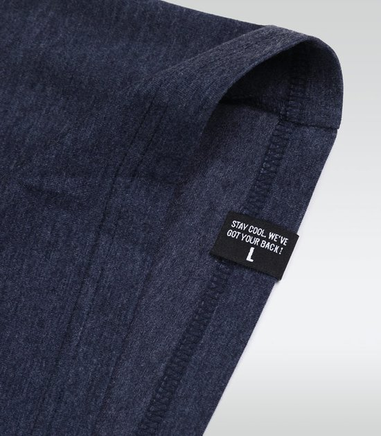 "T-shirt ""Roll Hard 2"" Navy Blue Melange"