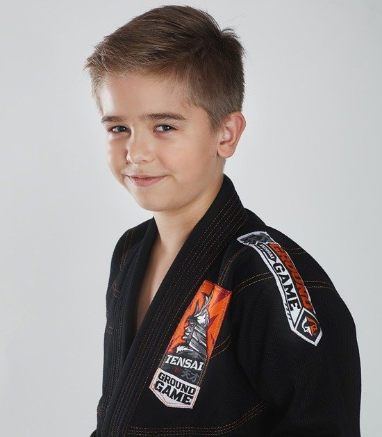 """Tensai"" BJJ Kids GI (Black)"