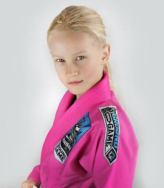 """""""Tensai"""" BJJ Kids GI (Pink)"""