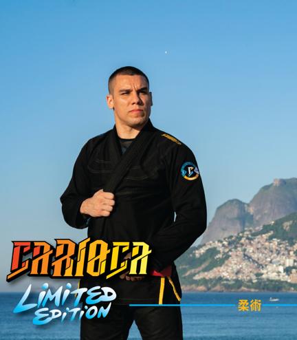 """GI do BJJ """"Carioca"""" (Czarne)"""