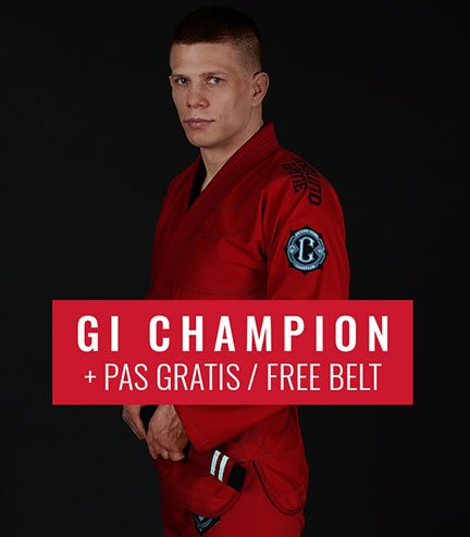 "GI do BJJ ""Champion 2.0"" (Czerwone) + pas GRATIS"