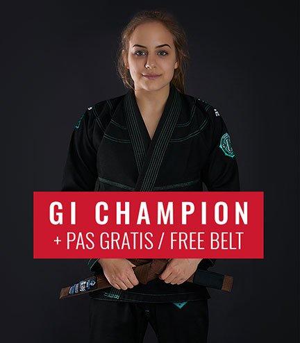 """Kimono/GI damskie do BJJ """"Champion 2.0 Mint"""" (Czarne) + pas GRATIS"""