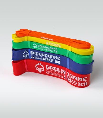 Zestaw 4 gum treningowych Power Band