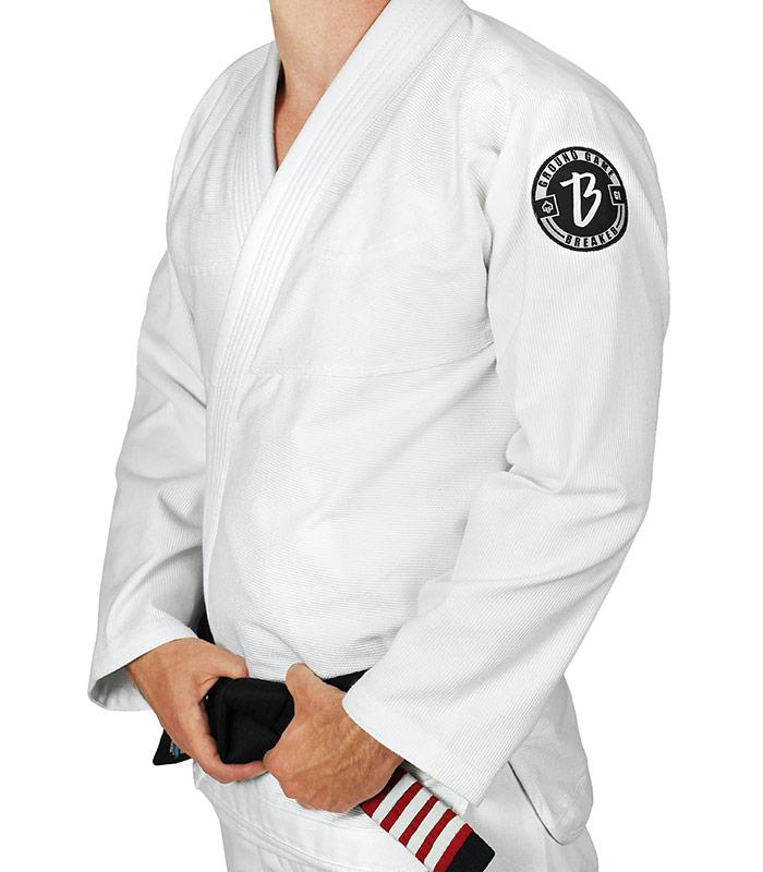 """Bluza """"Breaker"""" do kimona BJJ biała"""
