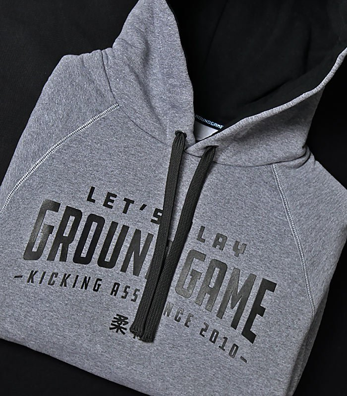 "Bluza z kapturem ""Ground Game"""