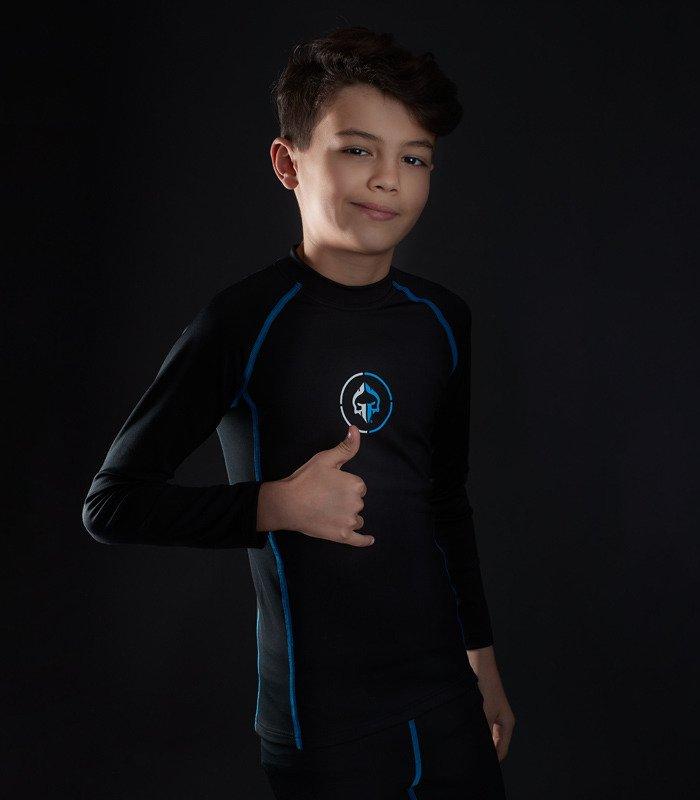 """Rashguard """"Athletic 2.0 Kids"""" z długim rękawem"""