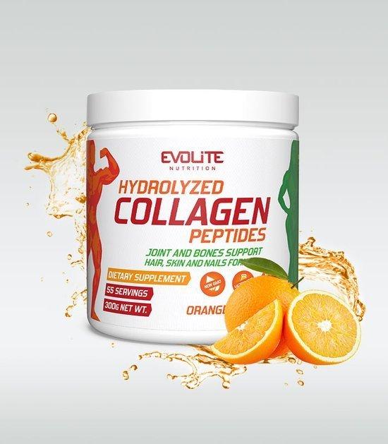 Evolite Hydrolizowane Peptydy Kolagenowe 300g Pomarańcz