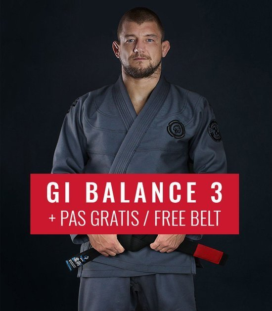 "GI do BJJ ""Balance 3 Shadow"" (Szare) + pas GRATIS"
