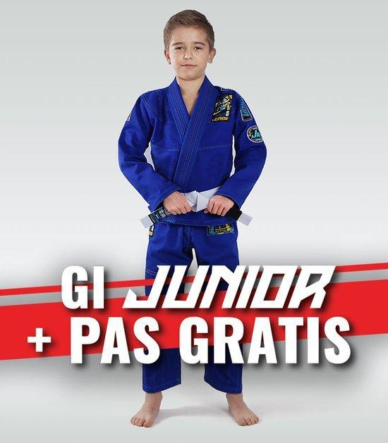 """GI do BJJ dla dzieci """"Junior 3.0"""" (Niebieskie) + pas GRATIS"""
