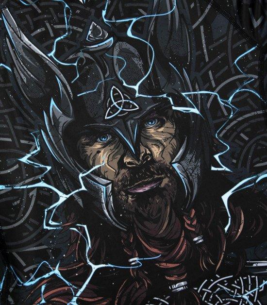 """Rashguard """"Thor"""" z długim rękawem"""
