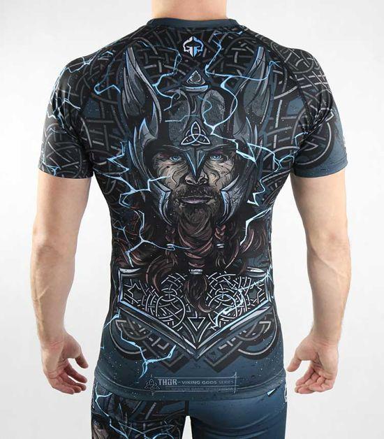 """Rashguard """"Thor"""" z krótkim rękawem"""