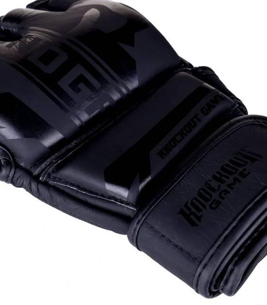 "Rękawice MMA ""Stripe Black"""