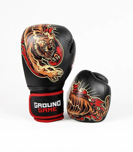 "Rękawice bokserskie PRO ""Red Tiger"" 10 oz"