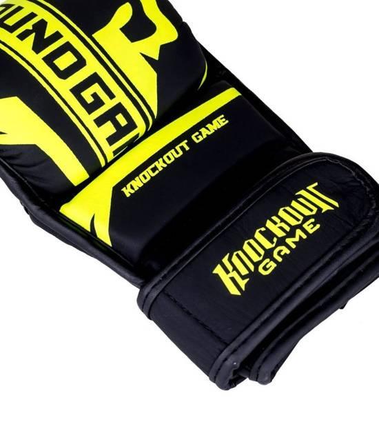 "Rękawice sparingowe MMA ""Stripe Neon"""