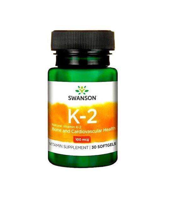 Swanson Witamina K2 100mcg 30 kapsułek