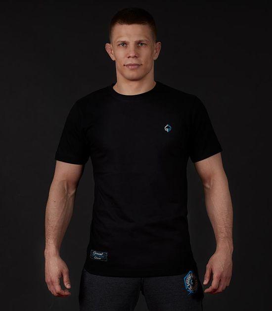 "T-shirt ""Minimal"" Czarny"